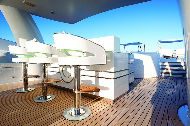 Step One yacht interior