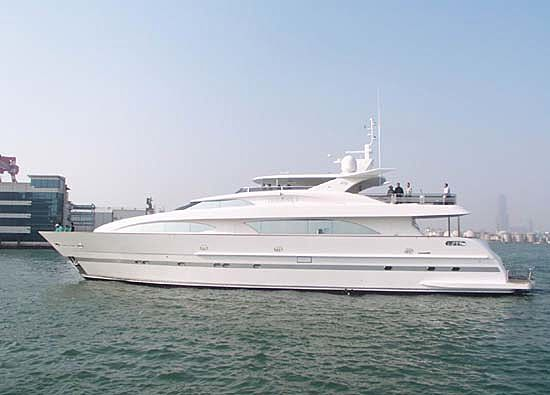 TRIDENT I yacht Horizon