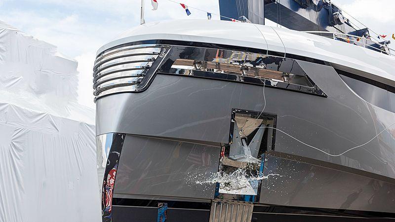Rossinavi Vector 50 EIV yacht launch