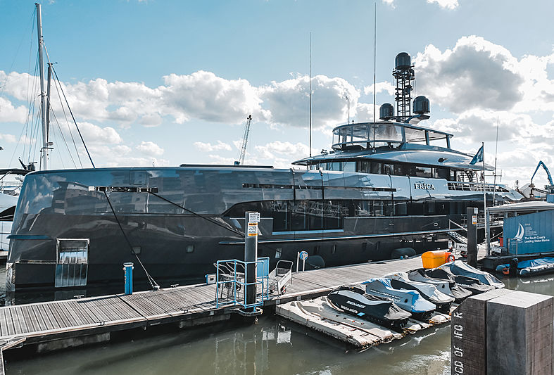 Erica yacht by Heesen in Poole, UK
