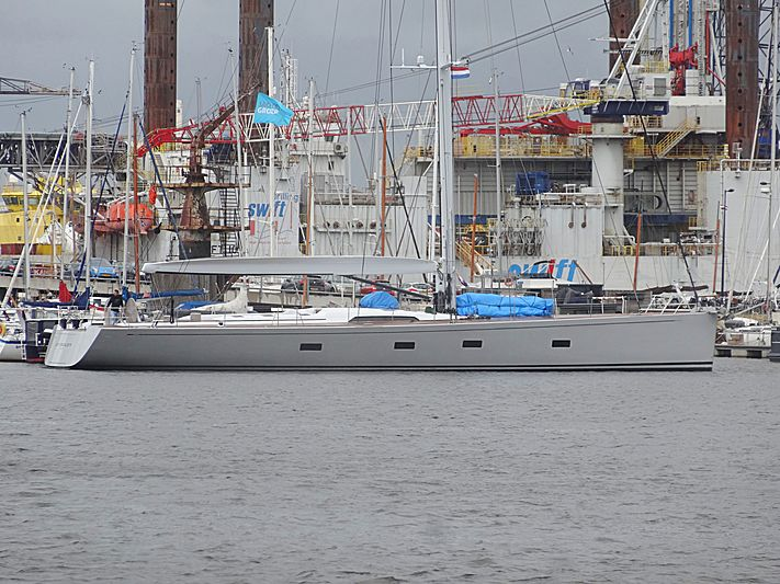 Aragon yacht in Amsterdam Noord marina