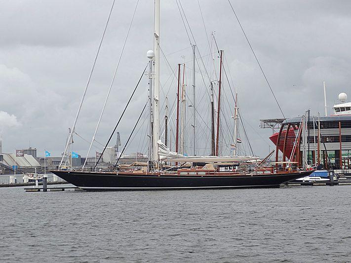 Maria Cattiva in Amsterdam Noord marina