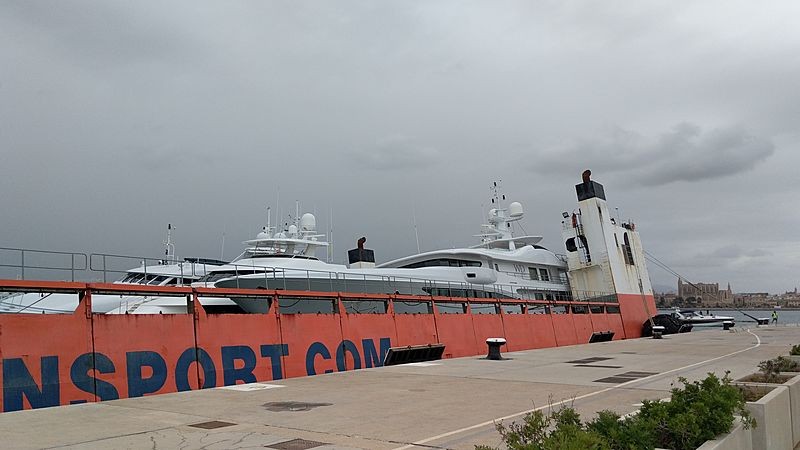 Super Servant 4 in Palma de Mallorca