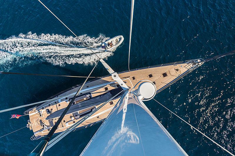 Blues yacht deck