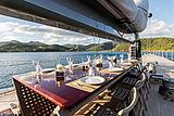 Rainbow Yacht Dykstra Naval Architects and deVosdeVries design