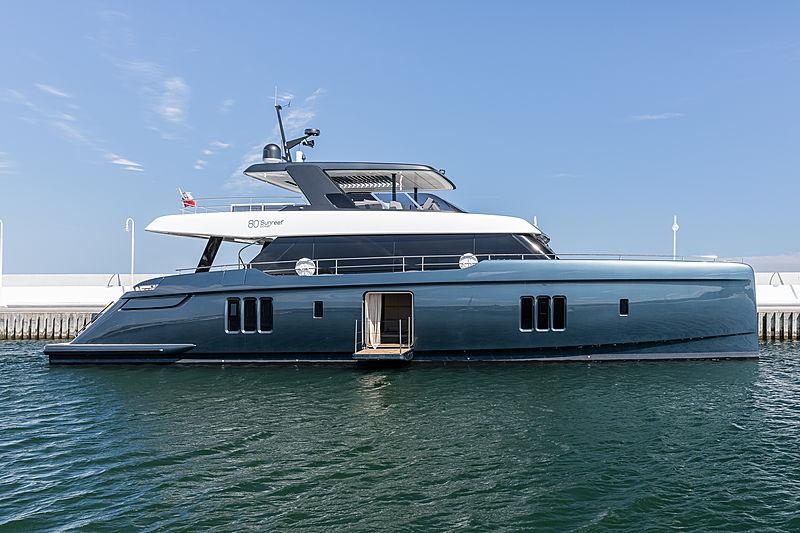 Sunreef 80 Power yacht profile