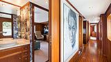 Berilda yacht hallway