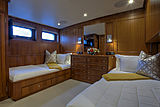 Berilda yacht stateroom