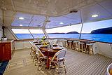 Berilda yacht aft deck