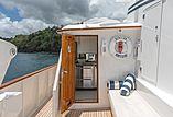 Berilda yacht sundeck