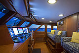 Berilda yacht wheelhouse