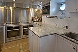 Berilda yacht galley