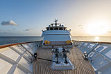 Berilda yacht foredeck