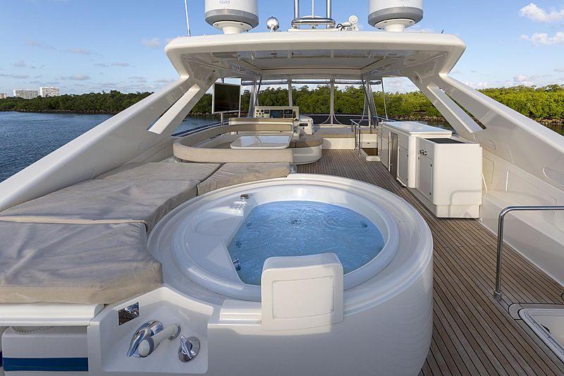 True yacht sundeck