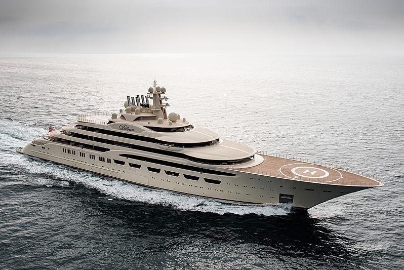 DILBAR yacht L眉rssen