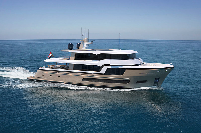 Lady Lene yacht exterior design