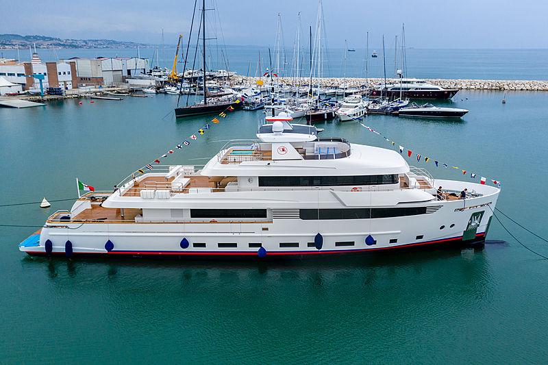Crowbridge yacht launch at CdM