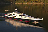 Attessa IV yacht cruising