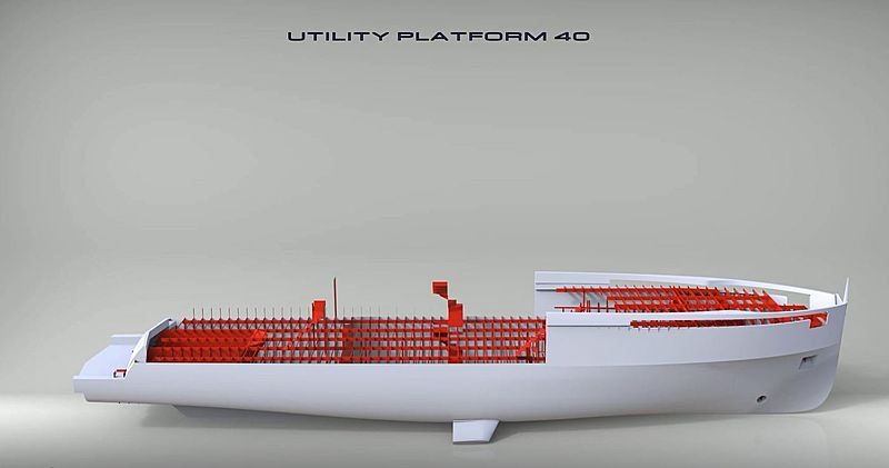 Antonini UP40 project rendering