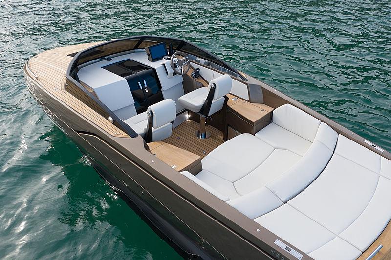 Nerea Yacht dark bronze NY24 Deluxe tender