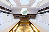 Wooden Boats WB 14 Limo tender interior