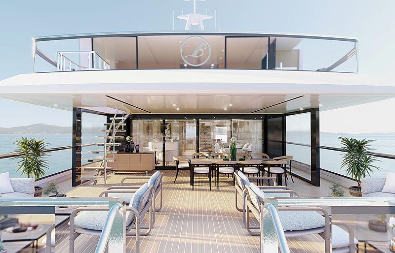 Benetti B.YOND 37m yacht exterior design