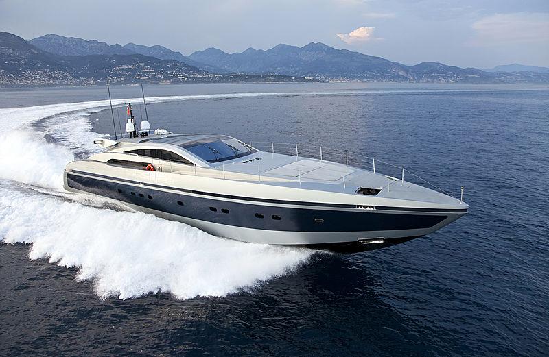 High Roller yacht cruising