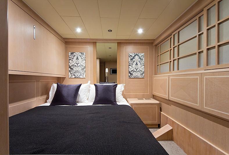 High Roller yacht interior