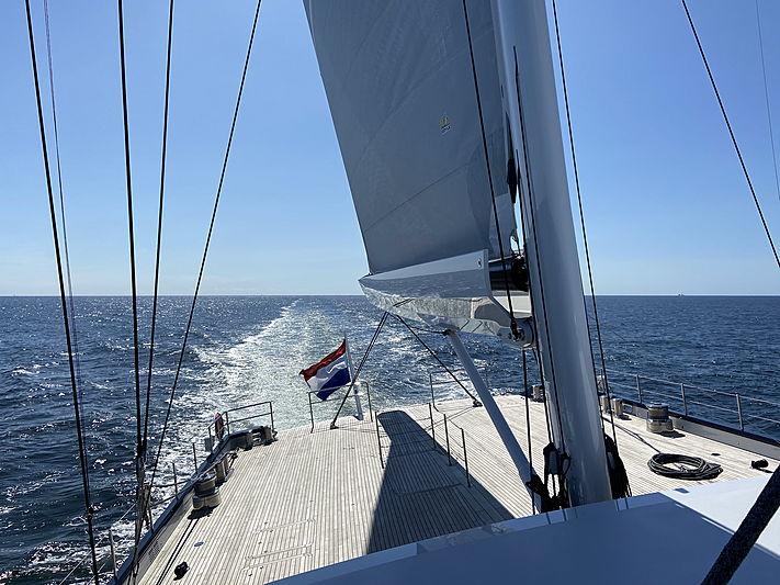 Sea Eagle II yacht by Royal Huisman sailing