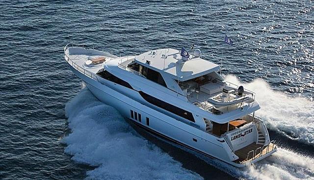 LONE STAR yacht Ocean Alexander