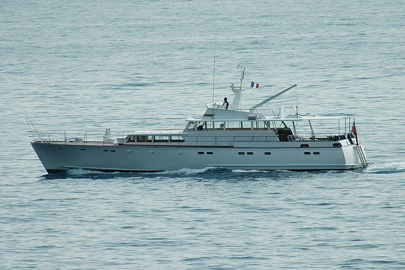 BEL AMI  yacht Chantier de L'Estérel