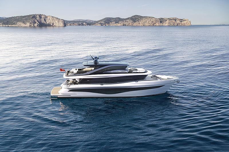 Princess Yachts X80 exterior