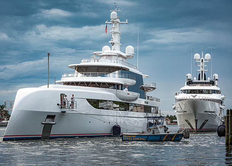 Superyachts Excellence and DreAMBoat in Fort Lauderdale