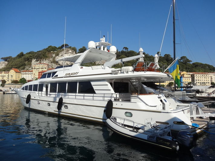 HARMONY yacht Crescent Custom