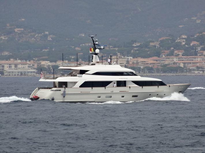 LES BRUXELLOIS yacht Sanlorenzo