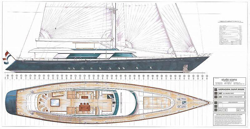YBM 46m Motor Sailor