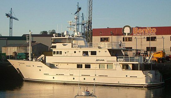 ATANA yacht Astilleros Armon
