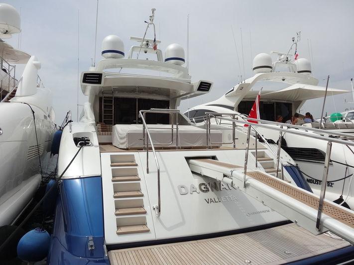 Dagnar IV in Saint Tropez