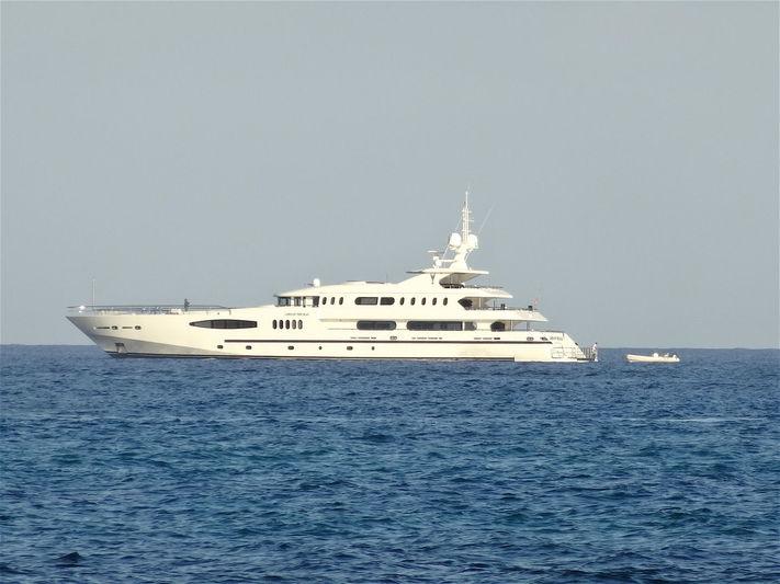 LORD OF THE SEAS yacht Egeria