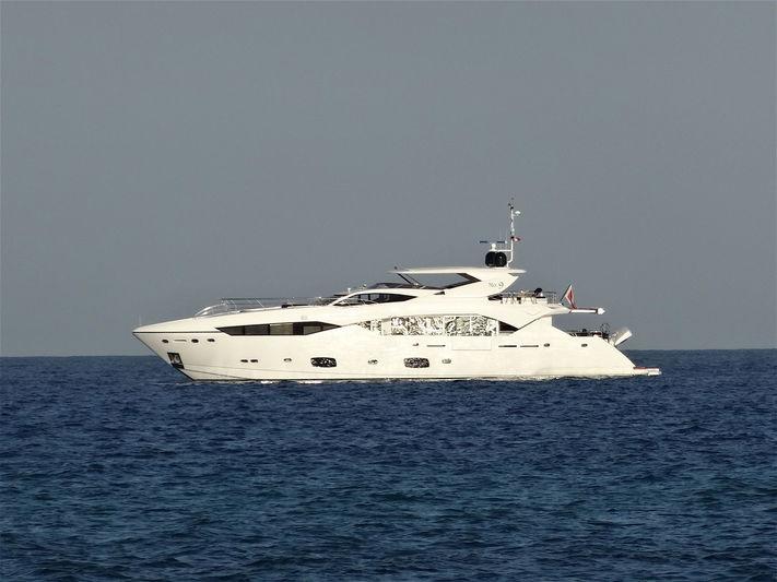 No. 9 yacht anchored off Ramatuelle