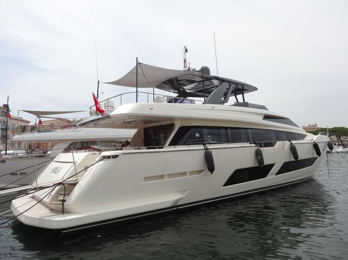 NADA  yacht Ferretti Yachts