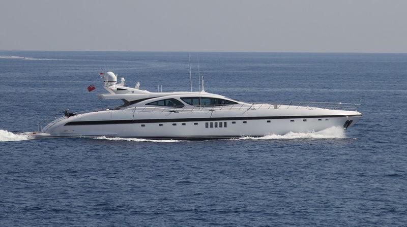 AFRICAN CAT yacht Overmarine