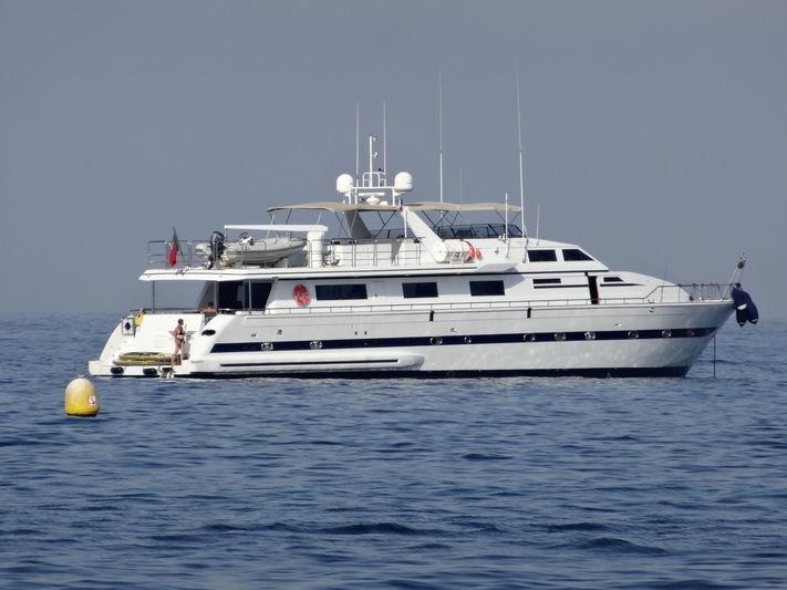 South Queen off Beaulieu sur Mer