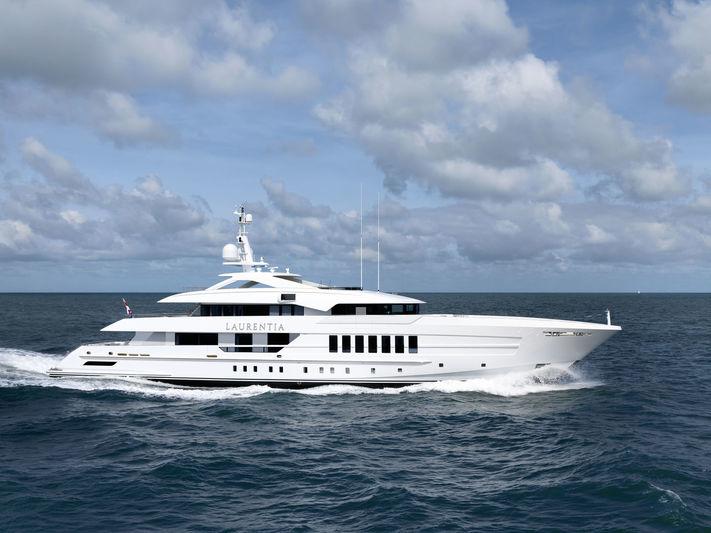 LAURENTIA yacht Heesen