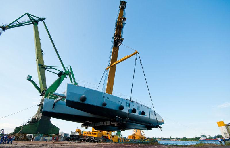 Che 2 launch at Sunreef