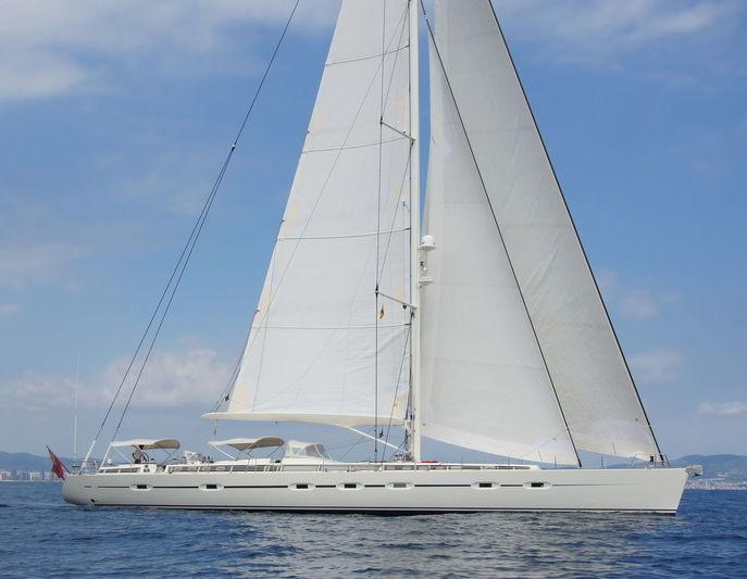 SAVARONA yacht CNB - Construction Navale Bordeaux