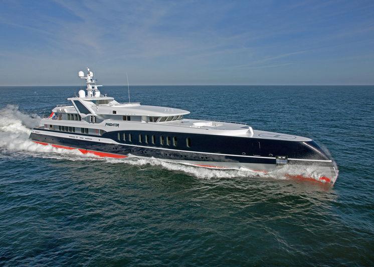 PREDATOR yacht Feadship