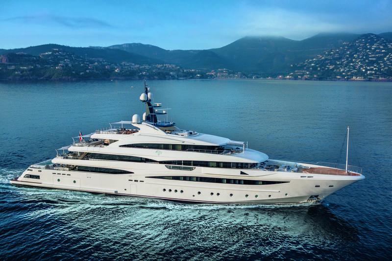 LADY JORGIA yacht CRN