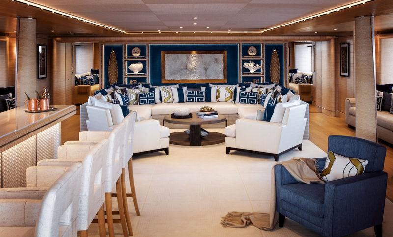 Cloud 9 main deck saloon