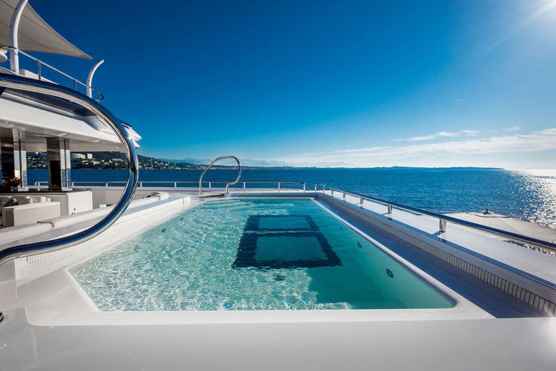 Cloud 9 swimming pool